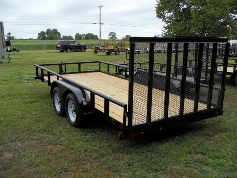 2019 Big Tex Trailers 70PI-16X Utility Trailer