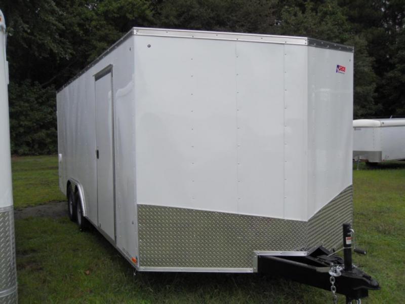2018 Pace American OBA8.5X20TE3 Enclosed Cargo Trailer