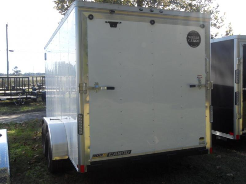2019 Wells Cargo WCVG714T-300 Enclosed Cargo Trailer