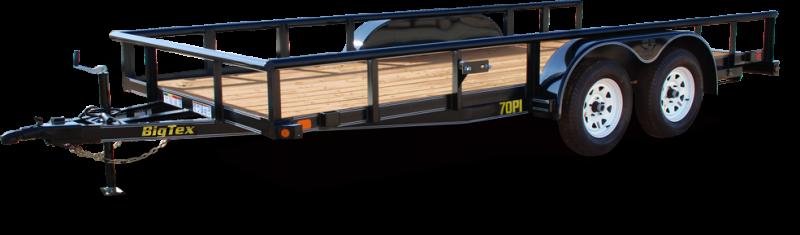 2019 Big Tex Trailers 70PI-20X UTILITY TRAILER