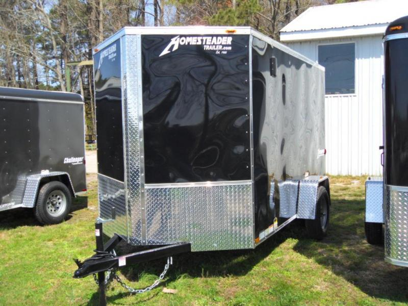 2019 Homesteader 612IS Enclosed Cargo Trailer