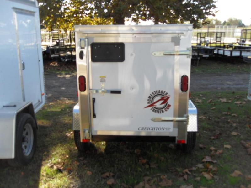 2019 Homesteader 406FS Enclosed Cargo Trailer