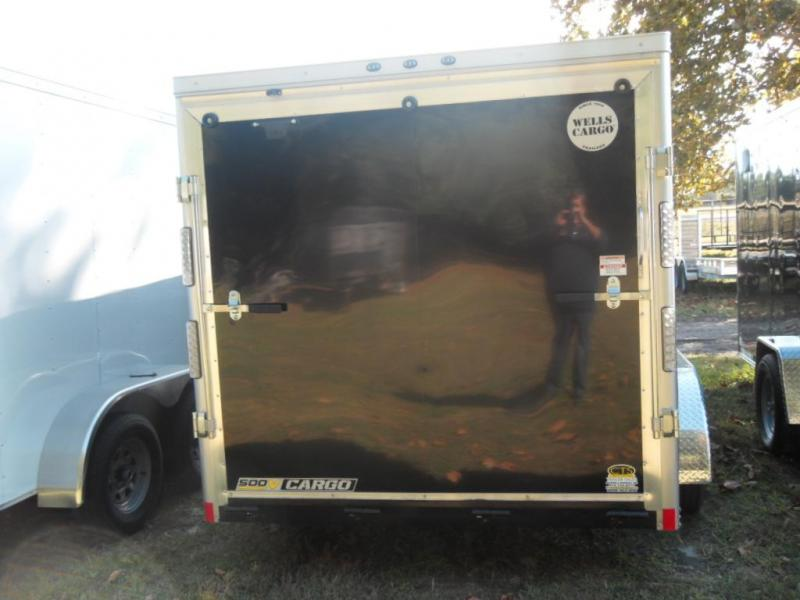 2019 Wells Cargo WCVG714T-500 Enclosed Cargo Trailer
