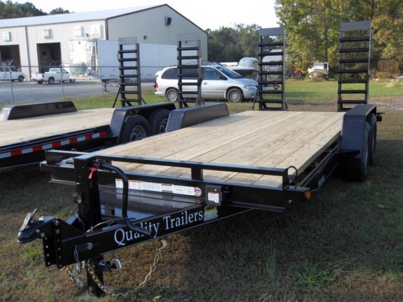 2019 Quality Trailers DH 18-PRO15K Equipment Trailer