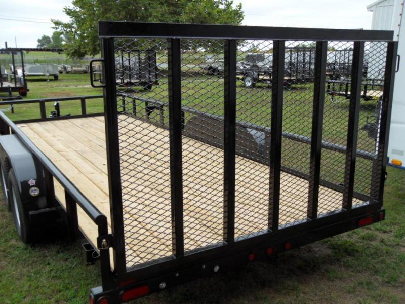 2019 Big Tex Trailers 70PI-18X Utility Trailer