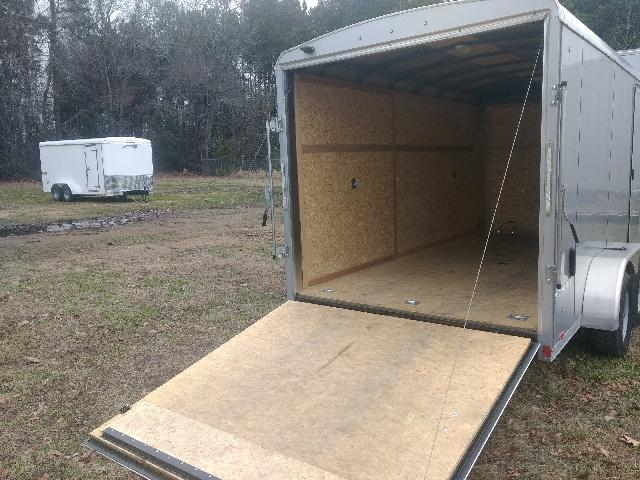 2015 Pace American CS7X14TE2 Enclosed Cargo Trailer