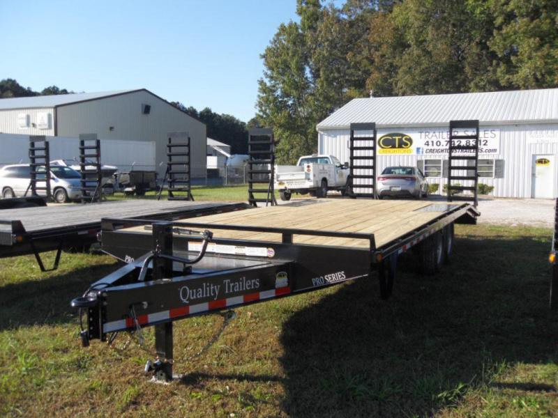 2019 Quality Trailers Model P 102x23 Equipment Trailer