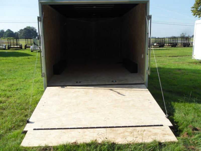 2019 Pace American OB85X16TE2  DLX ENCLOSED TRAILER