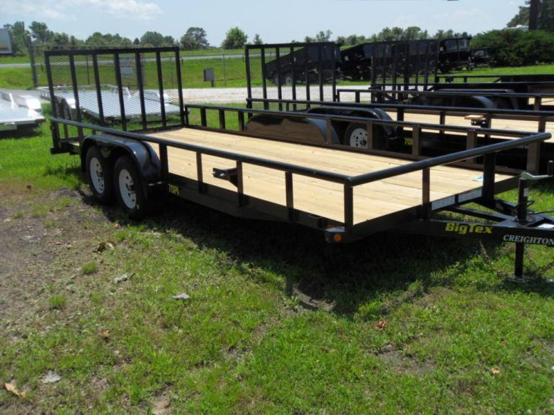 2019 Big Tex Trailers 70PI-20X Utility Trailer