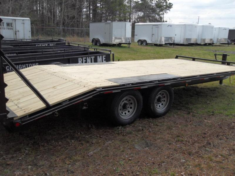 2018 Quality Trailers P 20-GENDECKOVER10K Equipment Trailer