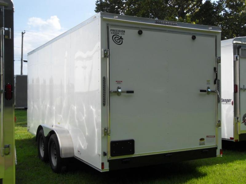 2018 Precision Cargo 7X16TA Enclosed Cargo Trailer