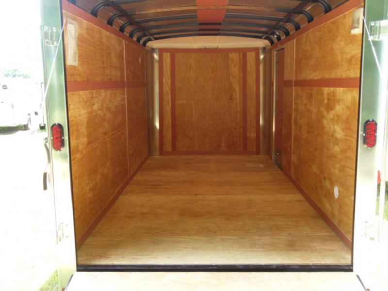 2019 Homesteader Inc. 716CT Enclosed Cargo Trailer