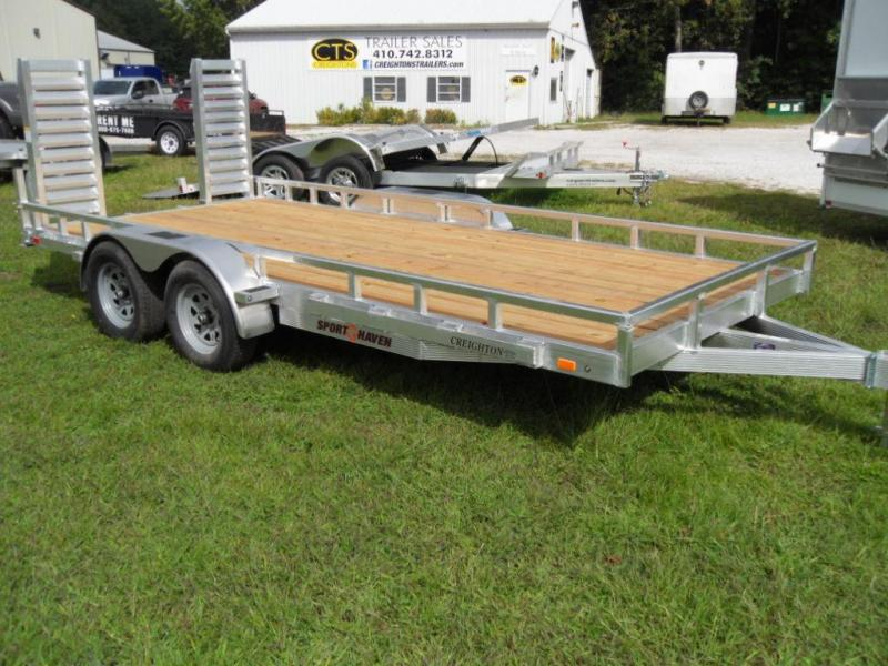 2018 Sport Haven AHD716T Utility Trailer