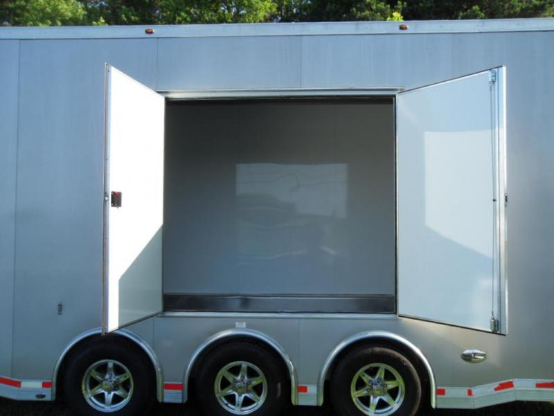2013 Aluminum Trailer Company ATC8-6X28 Enclosed Cargo Trailer