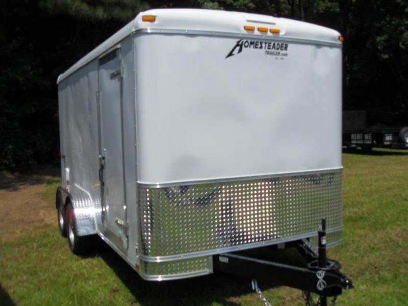 2019 Homesteader Inc. 714CT Enclosed Cargo Trailer