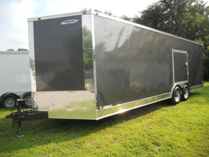 2017 Freedom 24' Race Ready Car Hauler Trailer