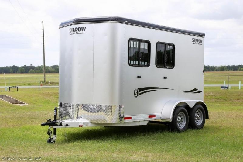 2017 Shadow 2-Horse Bumper Pull Trailer