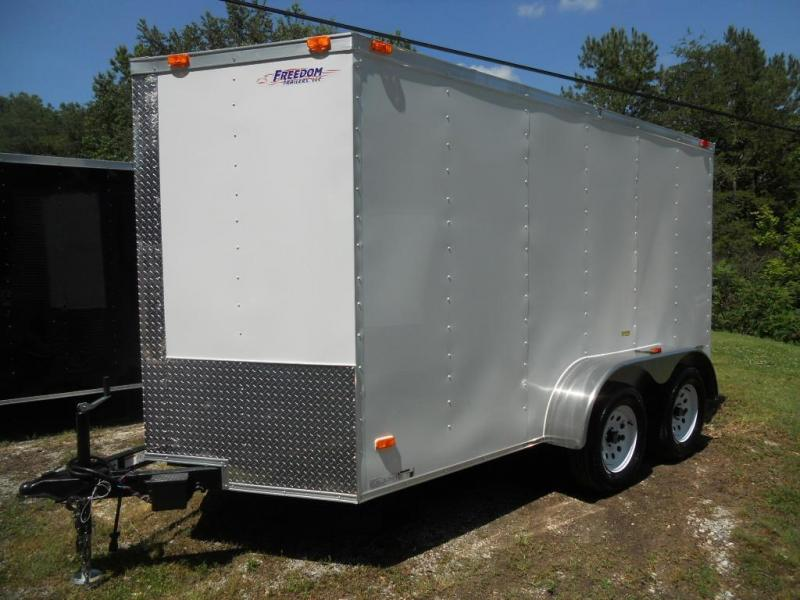 2017 Freedom 7' X 12' Enclosed Cargo Trailer