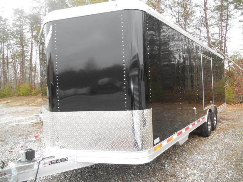 2017 Featherlite 4926 24' Car Trailer with Car Lover Options