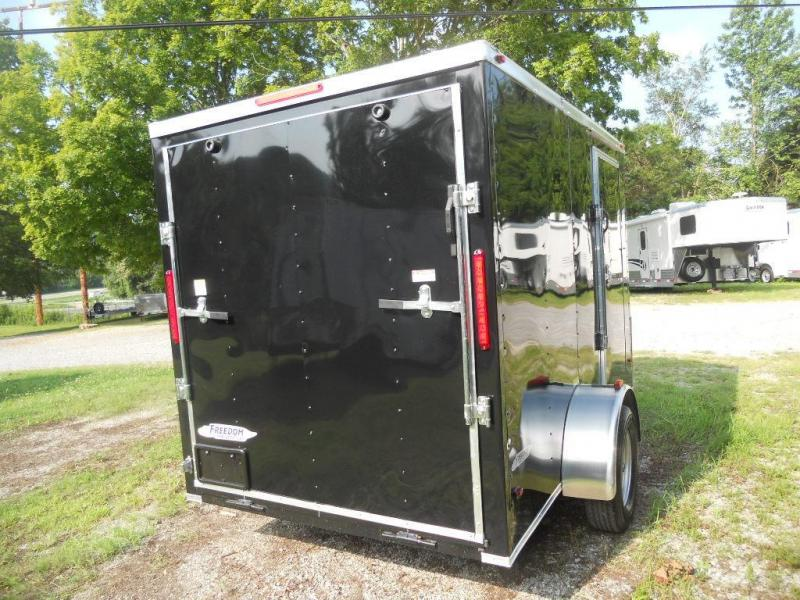 2017 Freedom 6' x 10' Enclosed Cargo Trailer