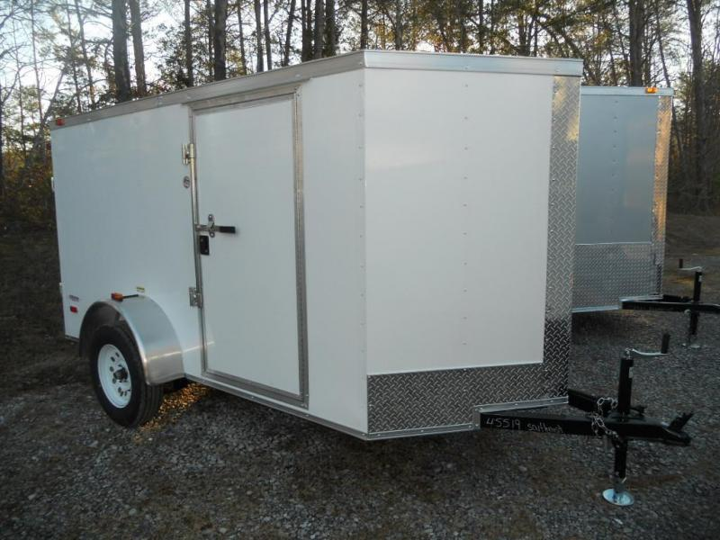 2017 Freedom 5' x 10' Enclosed Cargo Trailer with Double Cargo Doors