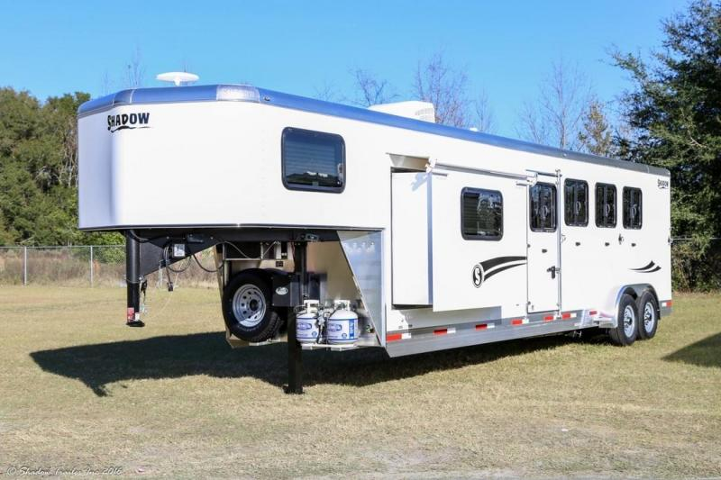 2017 Shadow 4-Horse 10.5' LQ Trailer