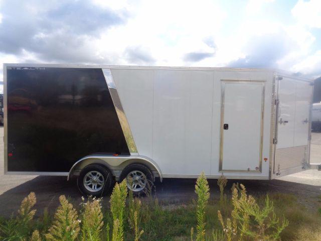 2018 Snopro e7x18-if elite 23ft inline snow trailer