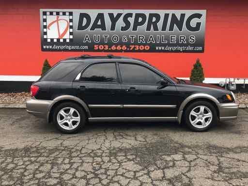 2002 Subaru IMPREZA Car