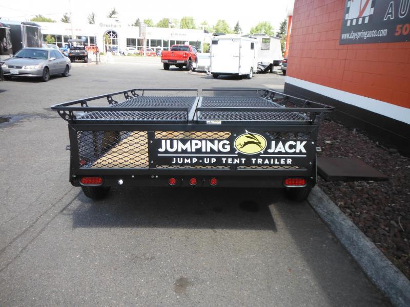 2018 Jumping Jack Trailers JJT6X8 BLACKOUT Tent Camper