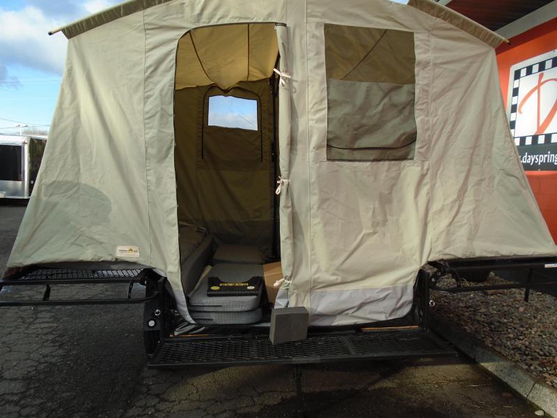 & 2018 Jumping Jack Trailers JJT6X8 BLACKOUT Tent Camper