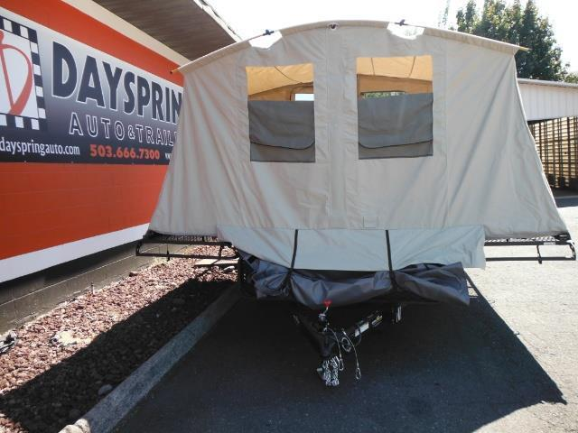 2017 Jumping Jack Trailers JT6X12X8 Folding Camper
