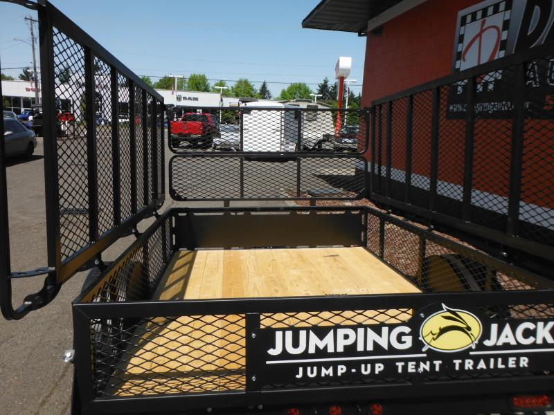 2018 Jumping Jack Trailers JJT6X12X8 B.O. Tent Camper