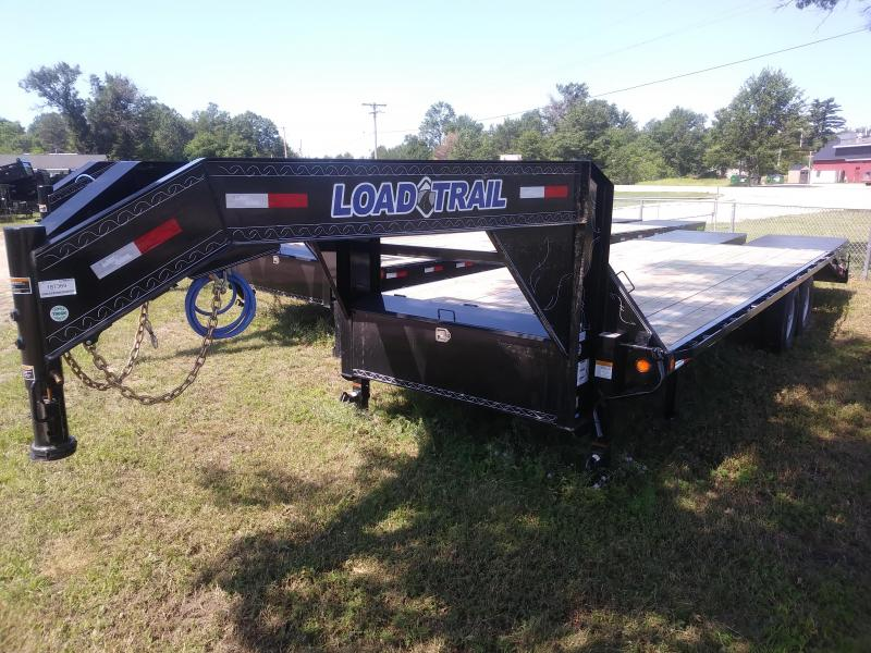 "2019 Load Trail 102"" X 32' 22K Tandem Low-pro Gooseneck Equipment Trailer"