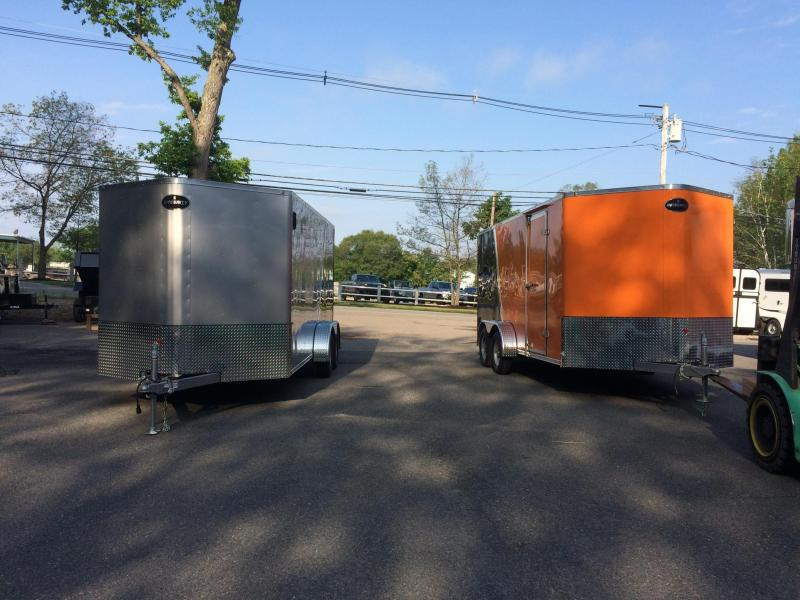 2018 Integrity Trailers 7x16 Motorcycle Trailer
