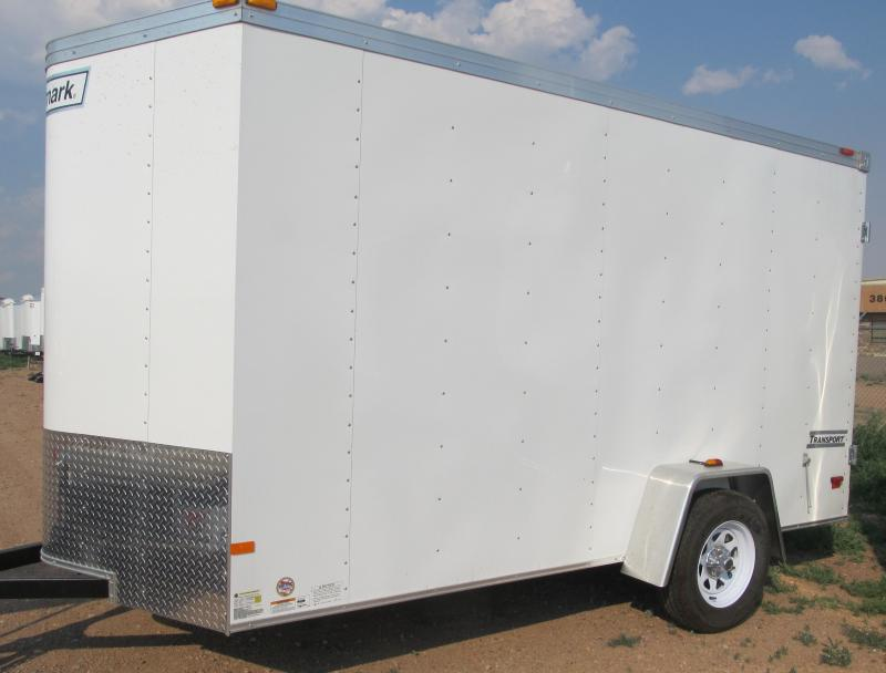 2017 Haulmark Transport V-Nose 7'x12' Enclosed Cargo Trailer
