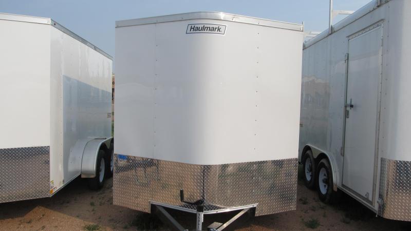 "2018 Haulmark 12'X7'X6'6"" Enclosed Cargo Trailer"