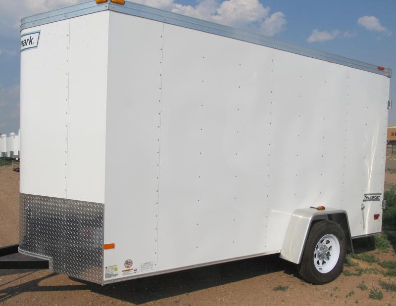 2017 Haulmark Passport 6X12 Enclosed Cargo Trailer