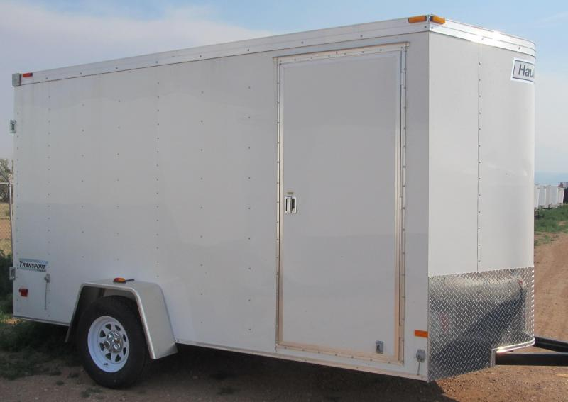 2017 Haulmark Passport 7X12 Enclosed Cargo Trailer