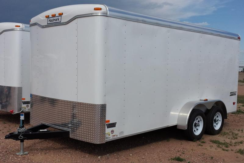 2017 Haulmark Transport 12'x7' Enclosed Cargo Trailer