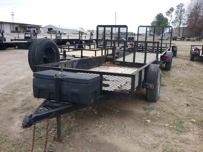 1998 Unmarked 5 x 10 Utility Trailer