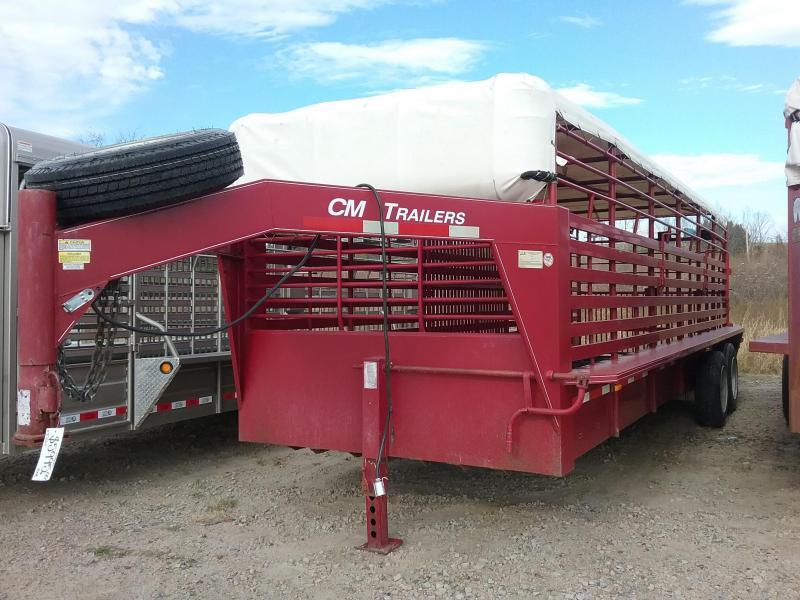 2008 CM ST146824 Livestock Trailer