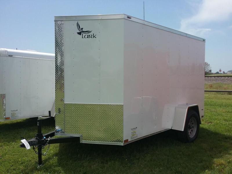 2017 Lark CT6X10SA Enclosed Cargo Trailer