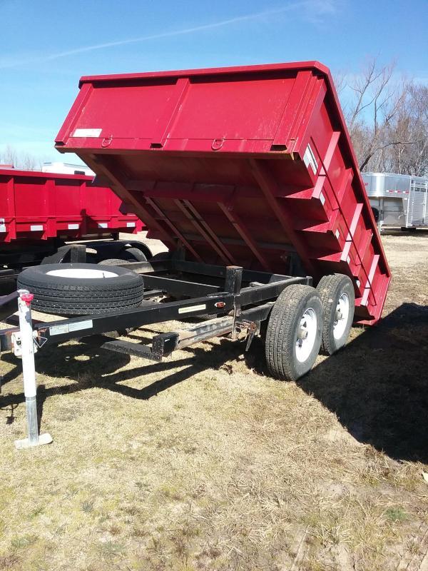 2012 ReadEDump 70B Dump Trailer