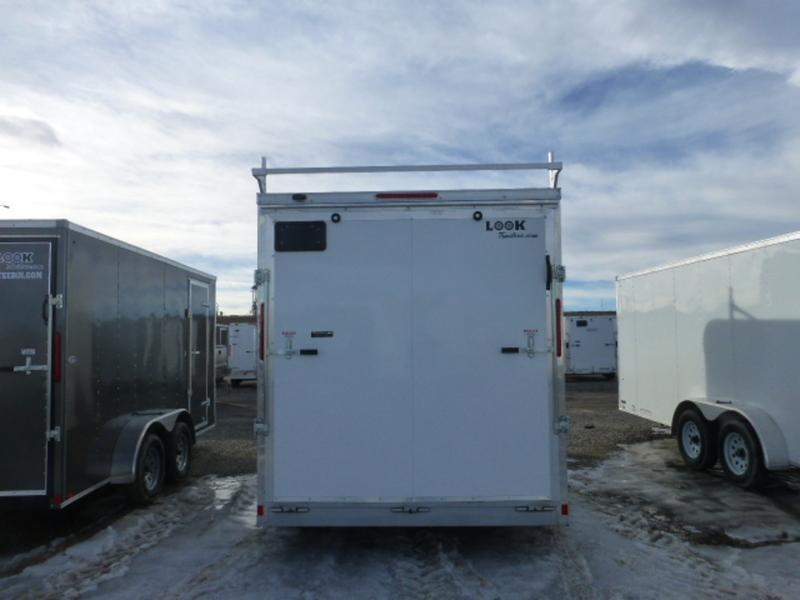 2017 Look LXT 7' Wide Flat Top Cargo 7X16