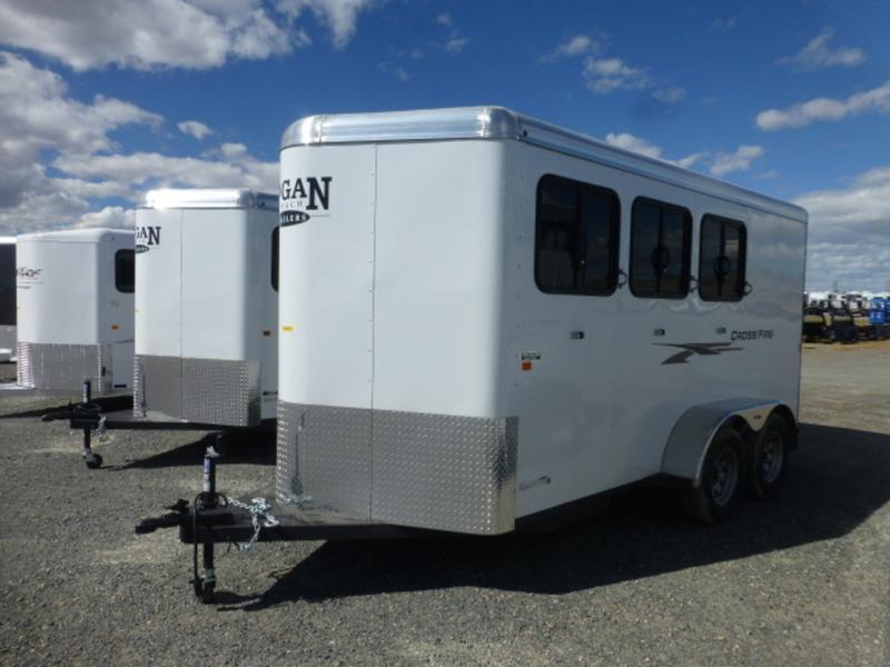 2017 Logan 3H Crossfire Horse Trailer
