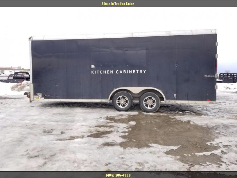 2012 Look 8X20 Vision Enclosed Cargo Trailer