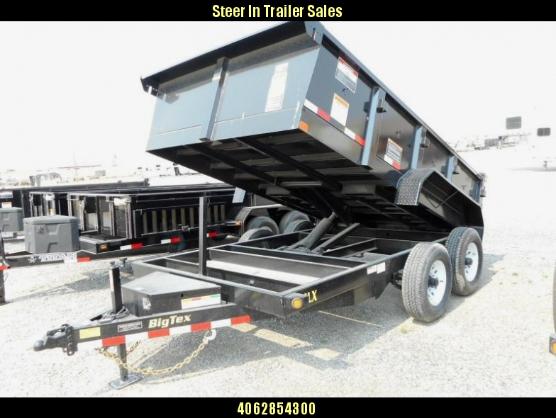 2017 Big Tex  14LX Dump Trailer