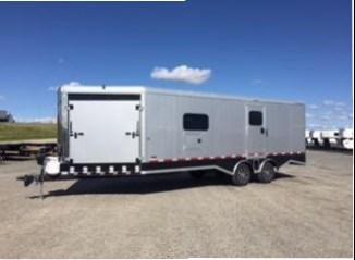 2017 Logan Coach Horsepower Pro Pkg Snowmobile Trailer