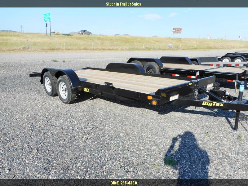 2017 Big Tex 18' 70CT Equipment Trailer