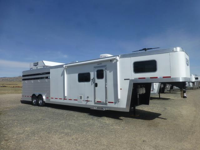 2017 Logan Coach 812 LIMITED LQ STOCK COMBO Horse Trailer